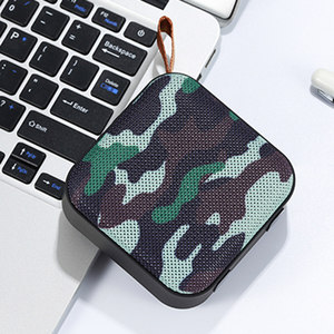 Newest Promotion Portable Unique design Fabric Mini Small BT Wireless Speaker