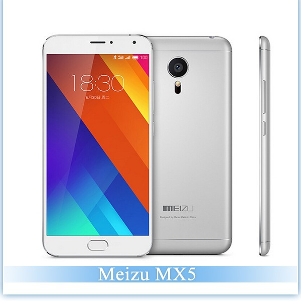 5.5 Inch MEIZU MX5 Mobile Phone MTK6795T Helio X10 Turbo Octa Core RAM 3GB ROM 32GB Android 5.0 1920*1080 Pixels