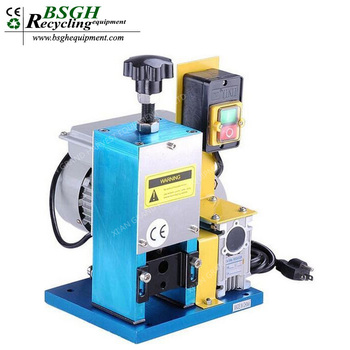Bs-025 Perfect Powerful Scrap Copper Cable Wire Stripping Machine ...