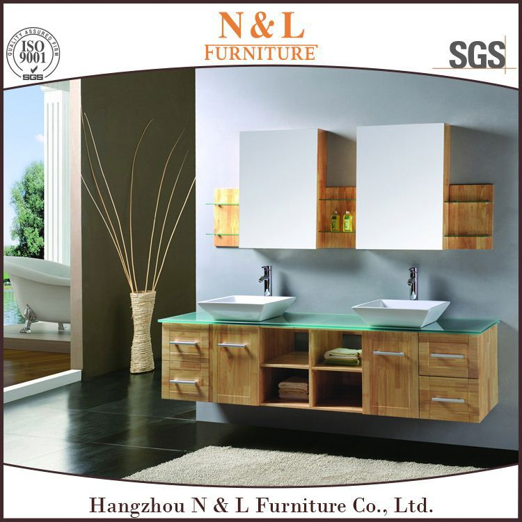 Lastest Modern MDF Home Furniture Vanity Bathroom