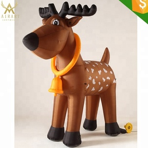 Inflatable Christmas Elk for Christmas Party/Giant Inflatable Christmas Deer