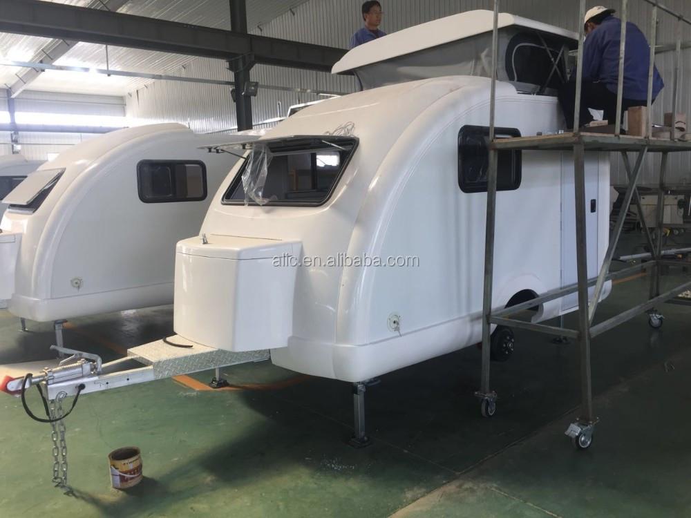 Fiberglass Pop Up Top Caravan Camper Trailer - Buy Caravan