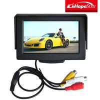 640x480 high resolution 3.5 inch lcd monitor 2 AV input 3.5 inch tft lcd cctv monitor