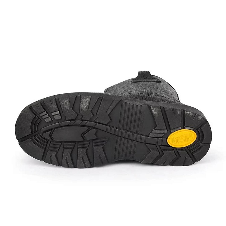 Plate With coal black High Steel Mining Boots quality BAFq0