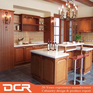 China Frameless Solid Wood Kitchen Cabinet, China Frameless ...