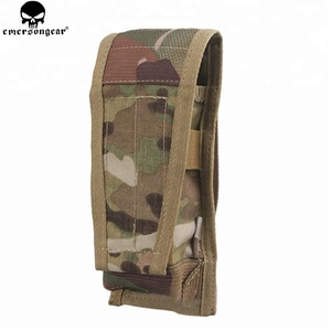 Emersongear Single Mag Military Army single Utility Pouch CP Style Flap Ipsc Molle Tactical Magazine Pouch tactical