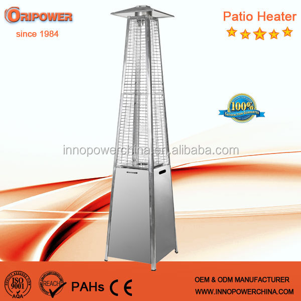 Quartz Glass Tube Patio Heater,Real Flame Pyramid Outdoor Gas Patio Heater    Buy Quartz Glass Tube Flame Patio Heater,Real Flame Pyramid Patio Heater  ...