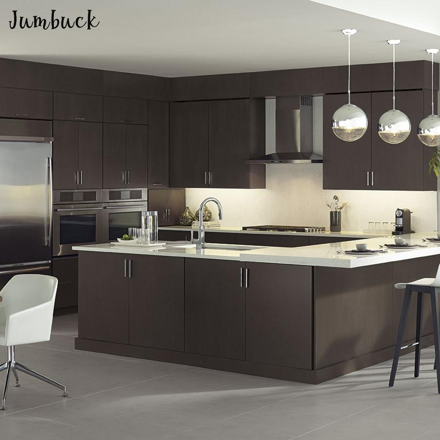 Modern Design Wenge Kitchen Furniture Set Cabinets Large Best