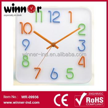 10 Fashional Numbers Clock Digital Mechanism Outdoor