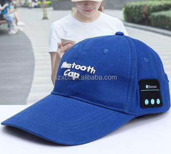 7e69d4ad9b4 Outdoor Sun Sport Bluetooth Cap Music Wireless Headphone Hat - Buy Bluetooth  Cap