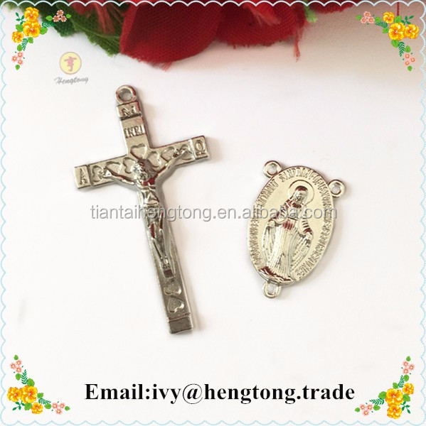 Wholesale cheap rosary partsrosary pendantsrosary accessories in wholesale cheap rosary parts rosary pendants rosary accessories in religious crafts alloy centerpiece aloadofball Image collections