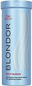 Wella Blondor Multi Blonde Lightening Bleach Powder 400ml Hair Color(Multi Blonde)