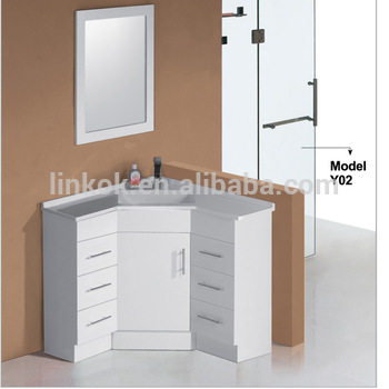 L shaped bathroom vanity buy l shaped bathroom vanity - Corner bathroom vanities for sale ...