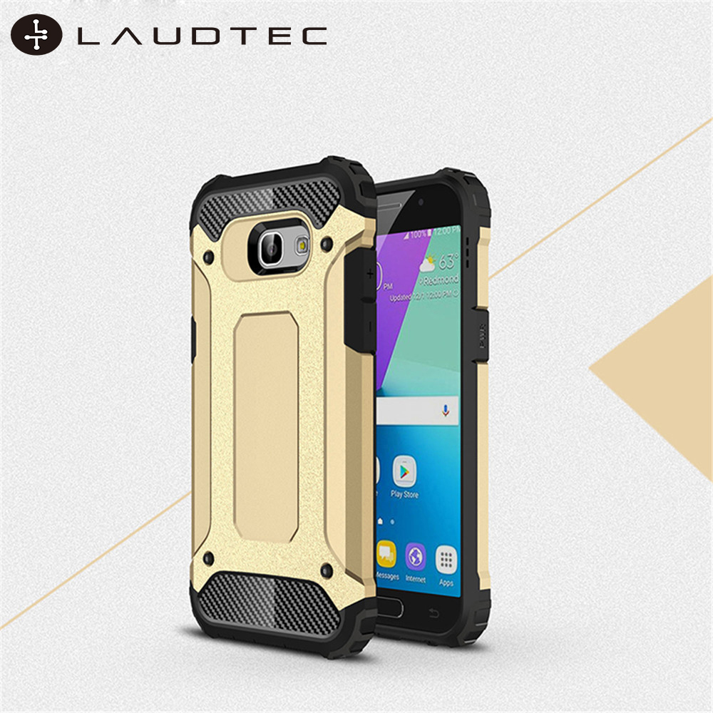Laudtec Hybrid Shockproof PC Soft TPU Back Cover <strong>Case</strong> For Samsung Galaxy A5 2017