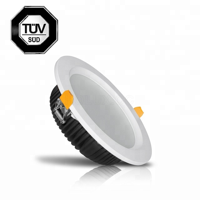 120lm/w ip44 6inch 18W 24W indoor LED downlight