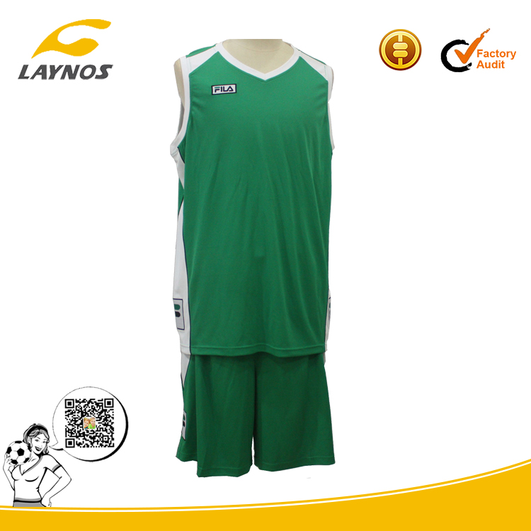 basketball jersey uniform design color green
