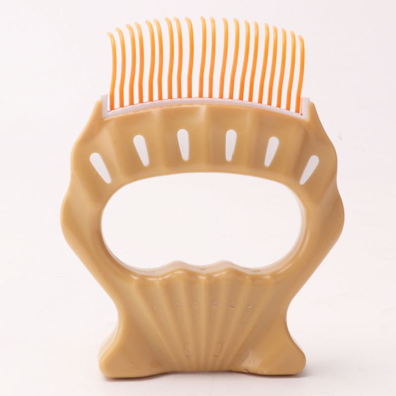 Factory Shell Shape Pet Dog Grooming Hair Comb Lice Brush Cleaning Tools