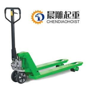 2T-3T Capacity AC Casting Pump Hydraulic Cylinder Manual Hand Pallet Truck