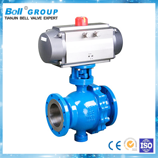 Light Weight Pneumatic Actuator Ball Valve