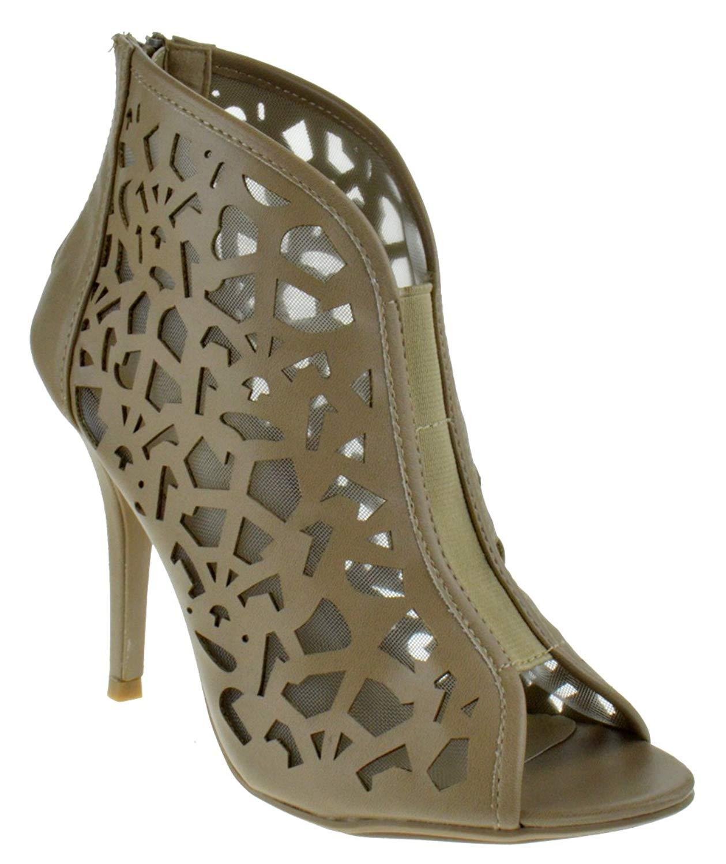 412df588265a Jenson 25 Caged High Heel Dress Sandals Natural