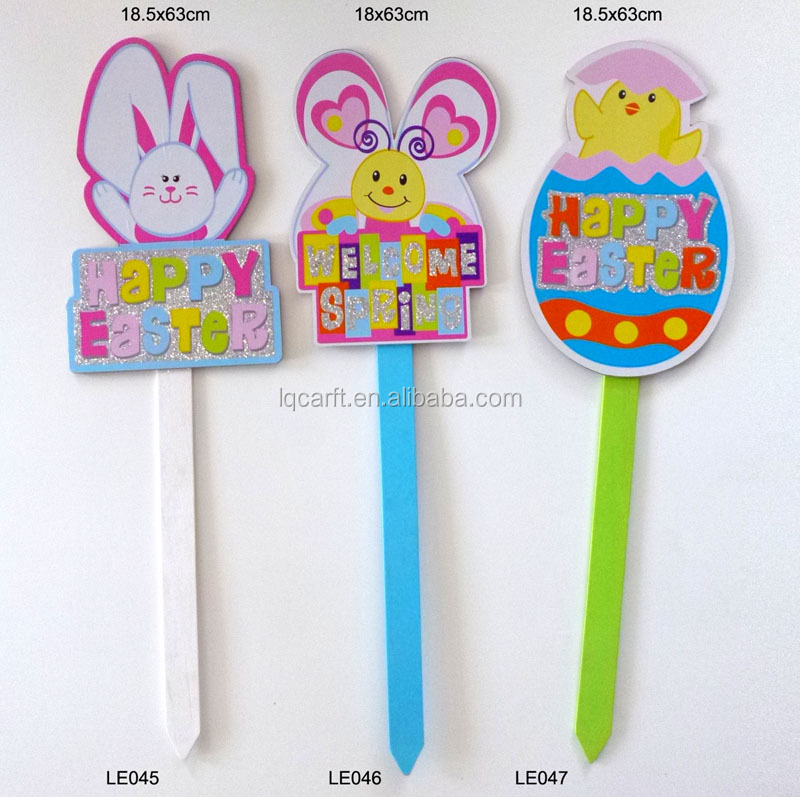 Easter Garden Stake, Easter Garden Stake Suppliers And Manufacturers At  Alibaba.com