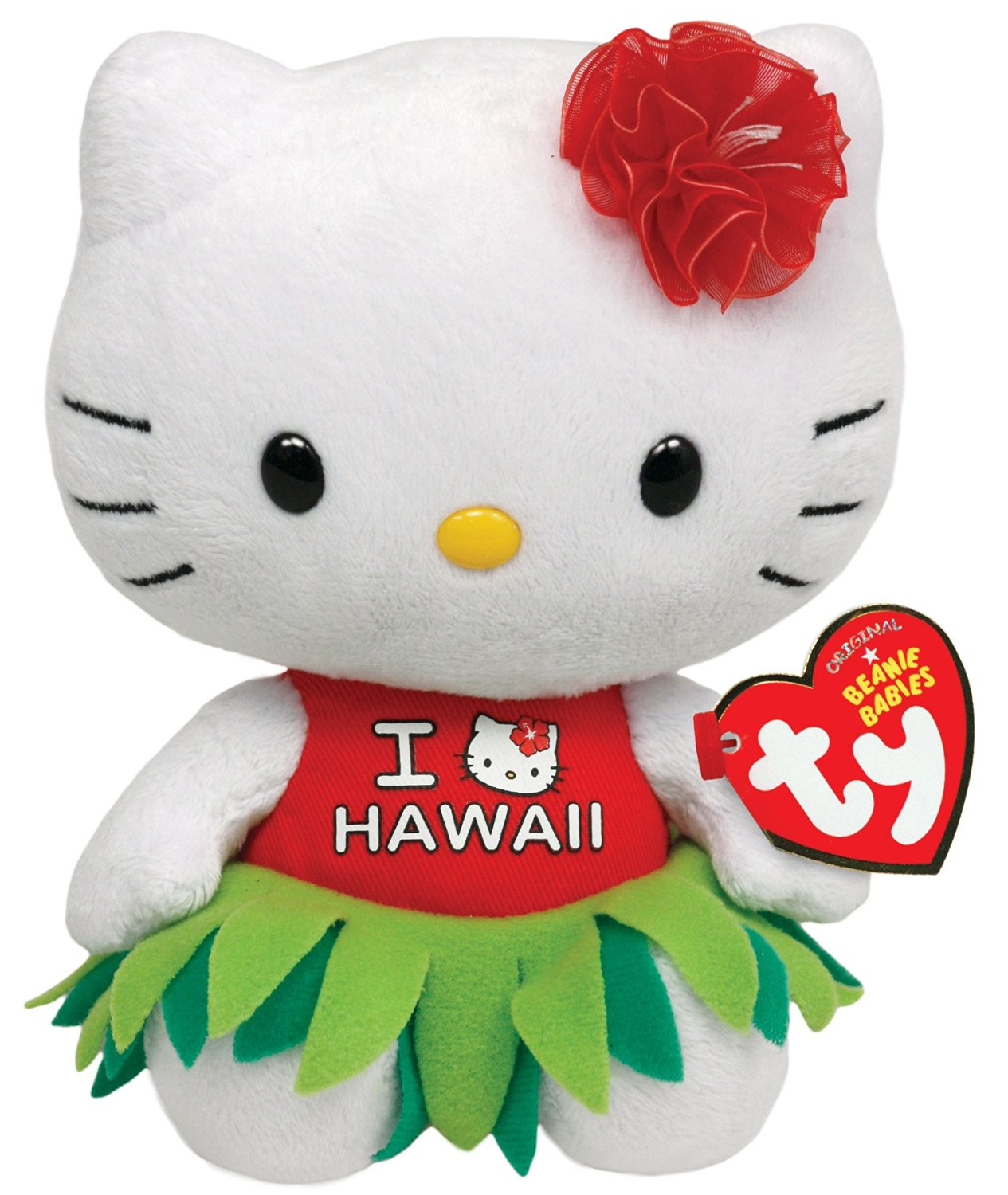 02fb1d79d57 Get Quotations · Ty Beanie Babies Hello Kitty Plush