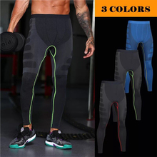Wholesale custom gym wear Men's sport legging 64% nylon, 28% polyester,8% spandex