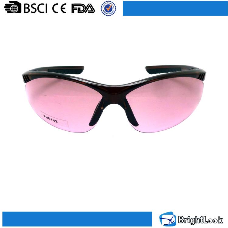 Wenzhou sunglasses factory woman vintage retro styles half frame plastic uv400 protective sport glasses frame