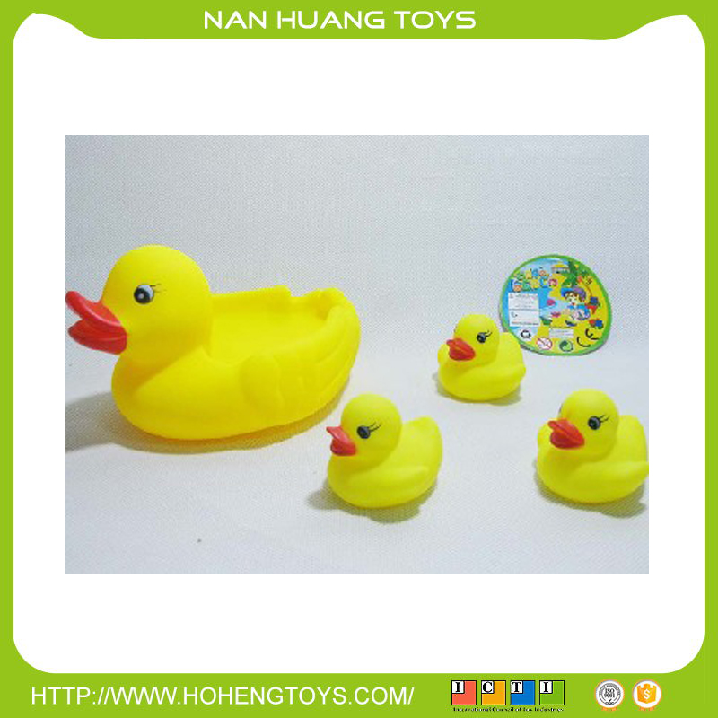 MOST POPULAR BABY TOY BATH CUTE VINYL DUCK/RUBBER DUCK WITH SOUND