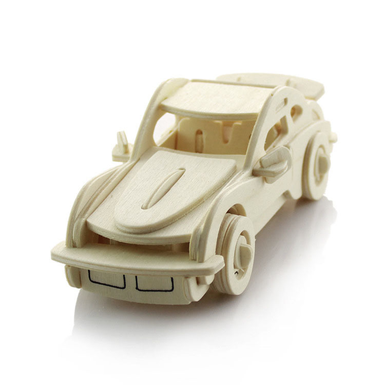 3d wood puzzles car model kids toys handmade wooden jigsaw puzzles crafts for home decor creative