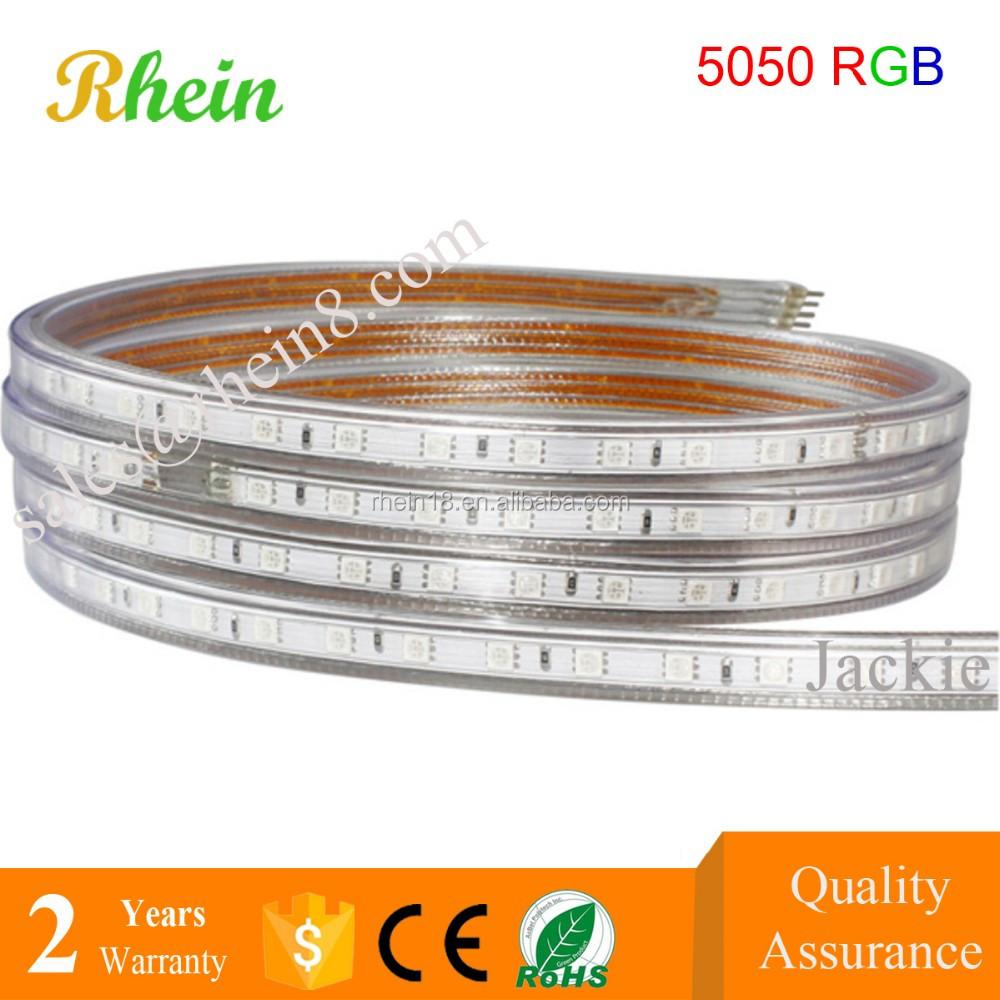 China Best Price 110v 220v 220 Volt Smd 5050 Led Strip 60 Leds Per Meter