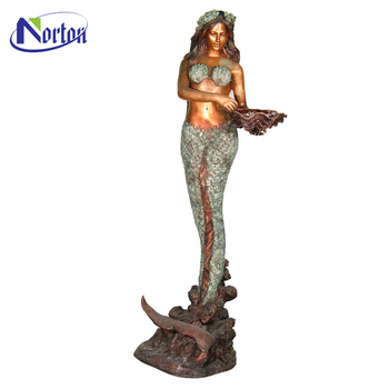 Large Outdoor Bronze Mermaid Sculptures For Sale Ntbm 192a Buy