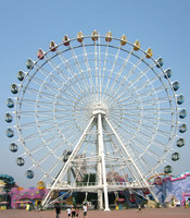 50m ferris wheel amusement ride with good quality
