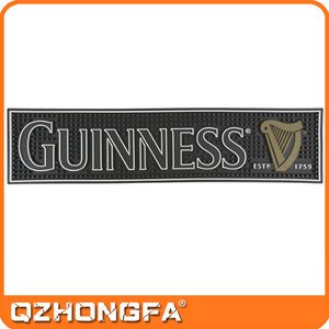 Custom GUINNESS PVC Bar Runner