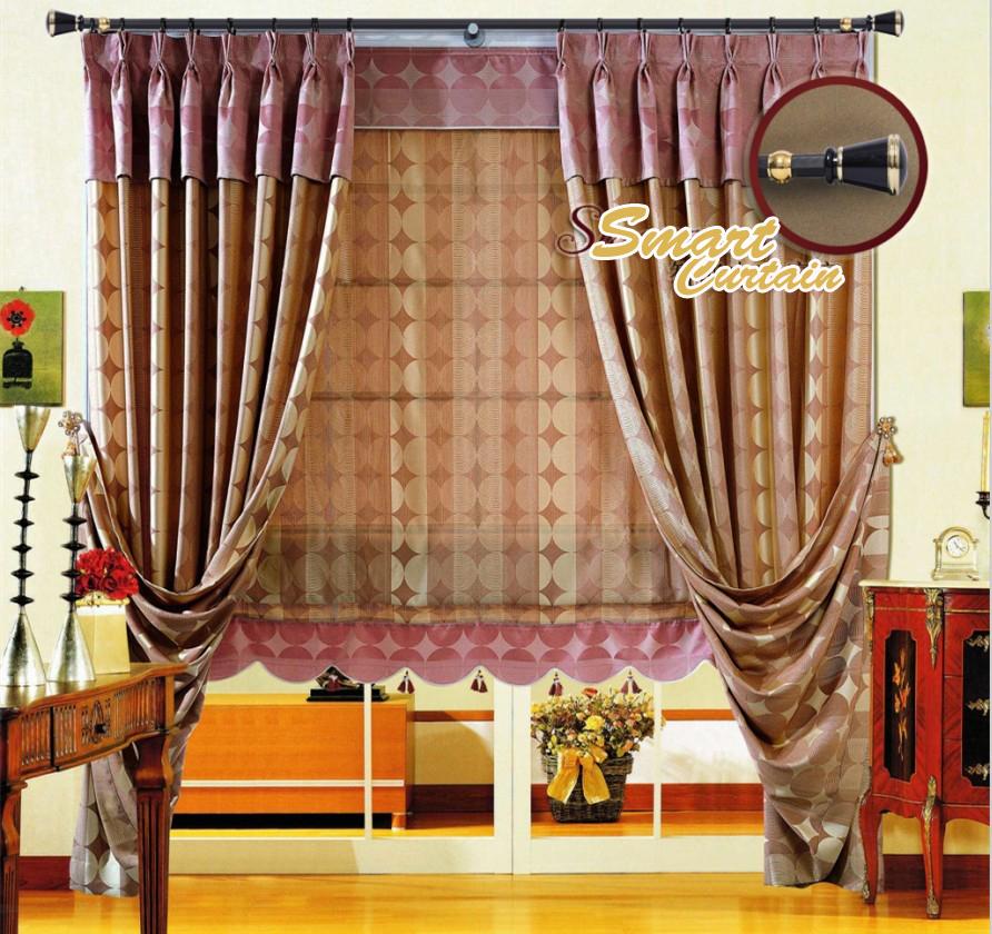 t l commande lectrique rideau syst me tringles rideaux ridaux stores volets id de produit. Black Bedroom Furniture Sets. Home Design Ideas