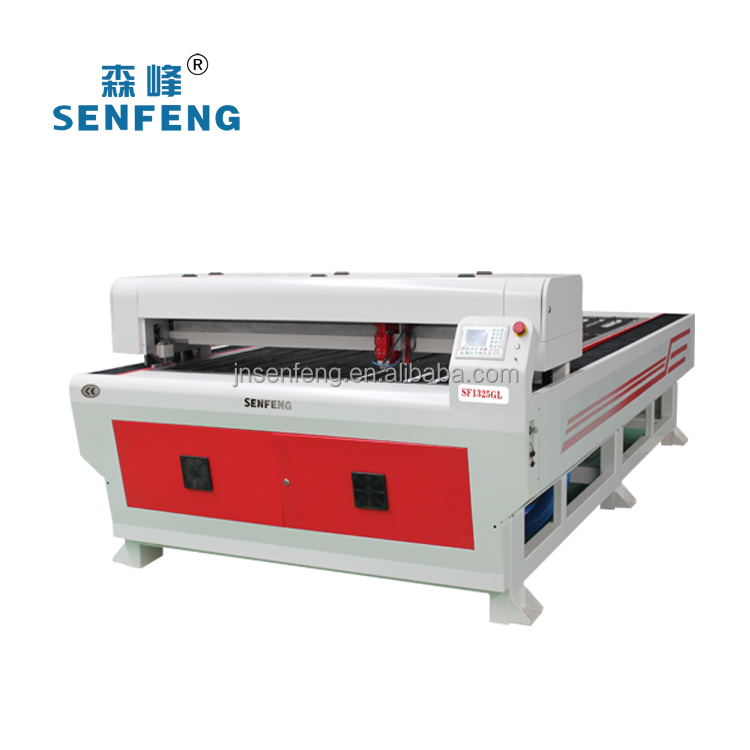 acrylic/stainless steel/carbon steel/MDF cutting machine laser cutter 150W laser power galss laser tube