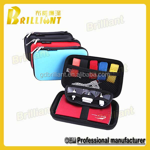 oem electronic accessories travel organizer 2.5 hdd case