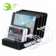 8 USB Multi Devices cell phone mobile stand docking station 8 port usb charging dock station for Mobile Phone Tablet MP3 GPS