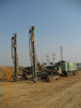 60m engineering construction hydraulic driver drill G150YF for sale
