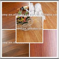 Oak synchronized 12.3MM V-Groove laminate flooring