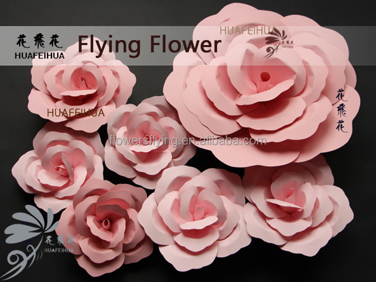 New Wholesale First Grade paper flower wall decor peonies