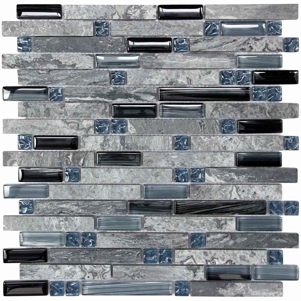 - Soapstone Blues Gray Marble Stone Blue Black Glass Blend
