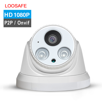 H.265 1080P 2.0mp POE Dome camera HI3516EV100+SONY291 with 30m IR distance cctv security