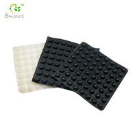 rubber feet for cutting boards/adhesive silicone pad/adhesive rubber pad