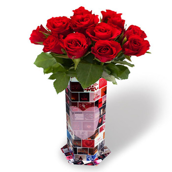 Promotional gift paper flower vasewedding return gift oem promotional gift paper flower vase wedding return gift oem waterproof paper flower vase wedding mightylinksfo