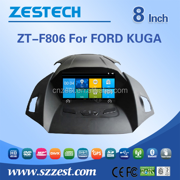 auto radio for Ford Kuga/Escape/Focus/C-MAX auto radio audio player with DVD TV 3G BT auto gps navigation system