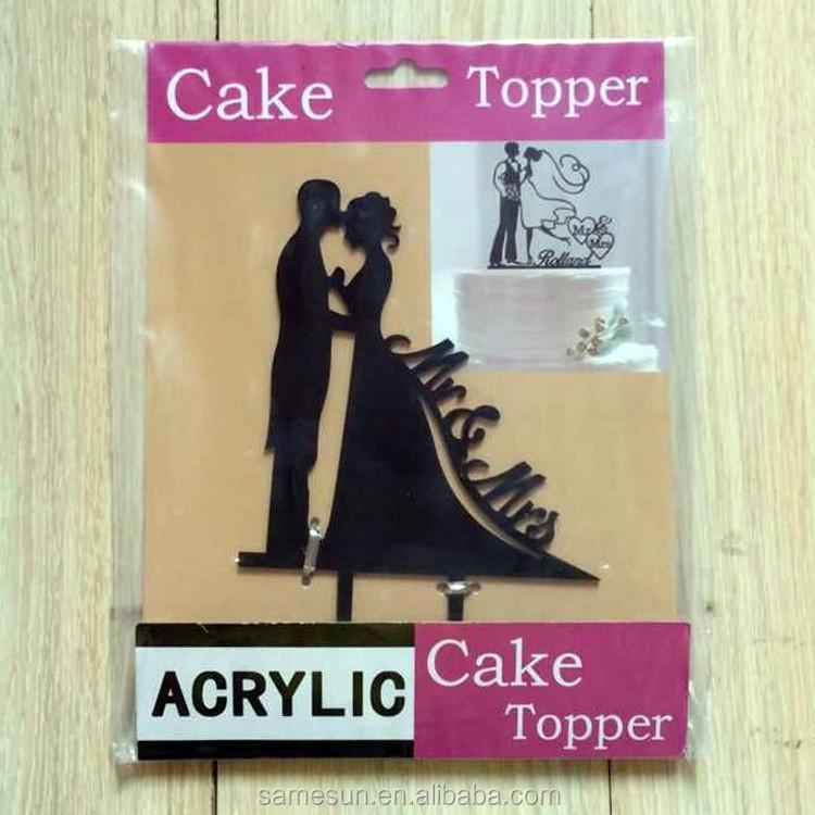 Meilun Art & Craft Birthday cake decoration acrylic cake topper