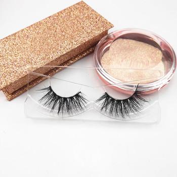 Best Price New Design False Eyelashes Own Brand 3d Mink Eyelashes