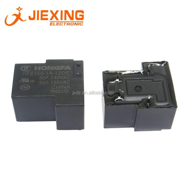 HONGFA HF2100-1A-12DE Power Relay 12VDC 4Pin 30A 240VAC