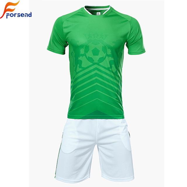 Moda Verde Jersey De Fútbol Uniforme - Buy Camiseta De Fútbol Verde ... a098353596499